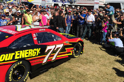 Erik Jones, Furniture Row Racing Toyota unveil