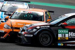 Crash: Vincent Radermecker, Milo Racing, VW Golf GTI TCR; Kai Jordan, JBR Motorsport, VW Golf GTI TC