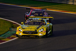 #86 AMG - Team HTP Motorsport Mercedes-AMG GT3: Thomas Jäger, Gary Paffett, Maximilian Götz