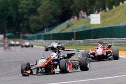 Anthoine Hubert, Van Amersfoort Racing, Dallara F312 – Mercedes-Benz; Lance Stroll, Prema Powerteam,
