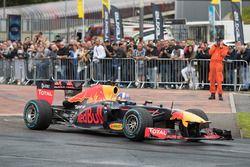 David Coulthard, Red Bull Racing, demostración