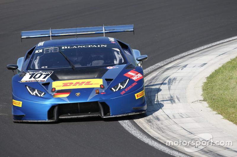 #101 Attempto Racing Lamborghini Huracan GT3: Daniel Zampieri, Patric Niederhauser
