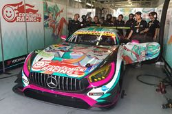 #4 Goodsmile Racing & Team Ukyo Mercedes SLS AMG GT3