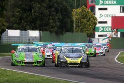 Mattia Drudi, Dinamic Motorsport - Modena e Gianluca Giraudi, Ebimotors