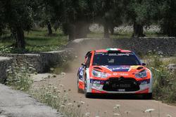 Francesco Rizzello e Monica Cicognini, Citroen DS3 WRC, Salentomotori