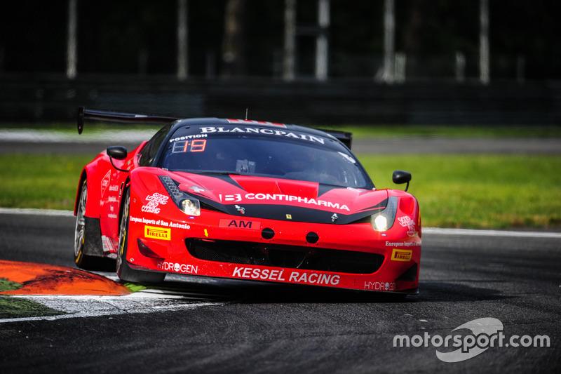 #111 Kessel Racing, Ferrari 458 Italia GT3: Stephen Earle, Bernard Delhez, David Perel