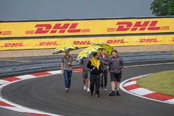 The track walk at the WEC 6 Hours of Nürburgring