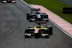Mitch Evans, Pertamina Campos Racing leads Artem Markelov, RUSSIAN TIME