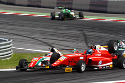 Crash von Juan Manuel Correa, Prema Powerteam und Yannik Brandt, Lechner Racing