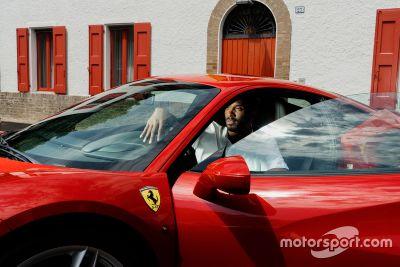 Kobe Bryant bei Ferrari
