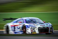 #25 Sainteloc Racing, Audi R8 LMS: Марко Бонамоні, Фред Буві, Крістіан Келдерс, Марк Ростан