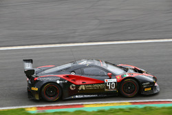 #40 Easy Race, Ferrari 488 GT3: Ferdinando Geri, Daniel Mancinelli, Gregori Romanelli, Filippo Francioni