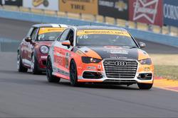 #75 Compass360 Racing Audi S3: Roy Block, Kyle Gimple