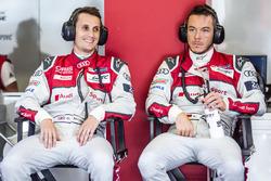 Audi Sport Team Joest Audi R18: Oliver Jarvis and Andre Lotterer