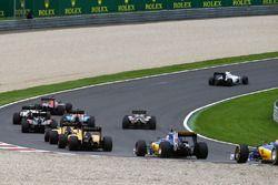 Marcus Ericsson, Sauber C35 di start race