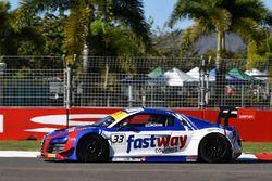 #33 Fastway Couriers Audi R8 LMS Ultra: Simon Ellingham, Tim Miles