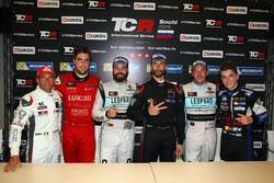 Gianni Morbidelli, West Coast Racing, Honda Civic TCR; Pepe Oriola, Team Craft-Bamboo, SEAT León TCR