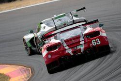 #63 Scuderia Corsa, Ferrari 488 GT3: Christina Nielsen, Alessandro Balzan, Jeff Segal