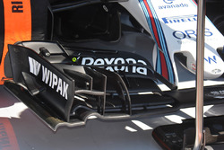 L'aileron avant de Felipe Massa, Williams F1 Team