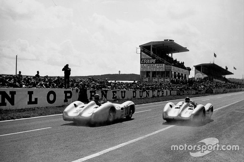 Борьба Карла Клинга и Хуана-Мануэля Фанхио, Mercedes-Benz W196, Гран При Франции 1954 года