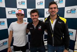 Norman Nato, Racing Engineering, Pierre Gasly, Prema Racing and Nicholas Latifi, DAMS