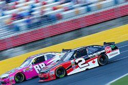 Austin Dillon, Richard Childress Racing Chevrolet, Kevin Harvick, JR Motorsports Chevrolet