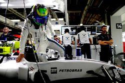 Felipe Massa, Williams FW38 entra in macchina