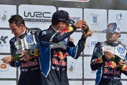Sébastien Ogier, Julien Ingrassia, Andreas Mikkelsen, Volkswagen Polo WRC, Volkswagen Motorsport