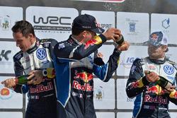 Себастьен Ожье, Жюльен Инграссиа, Андреас Миккельсен, Volkswagen Polo WRC, Volkswagen Motorsport