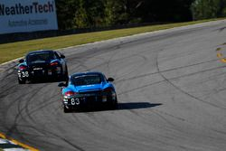 #38 Next Level European Porsche Cayman: Dan Rogers, Seth Thomas, #83 Next Level European Porsche Cay