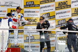 Podium: #77 Callaway Competition, Corvette C7 GT3: Jules Gounon, Daniel Keilwitz und #69 Callaway Competition, Corvette C7 GT3: Patrick Assenheimer, Dominik Schwager.