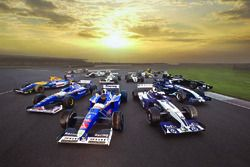Williams F1 cars for the 40th anniversary