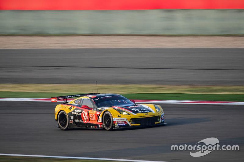 3. LMGTE-Am: #50 Larbre Competition, Corvette C7.R: Ricky Taylor, Romain Brandela, Pierre Ragues