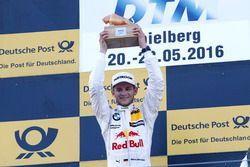 Podium: Winner Marco Wittmann (GER) BMW Team RMG, BMW M4 DTM. 21.05.2016, DTM Round 2, Spielberg, A