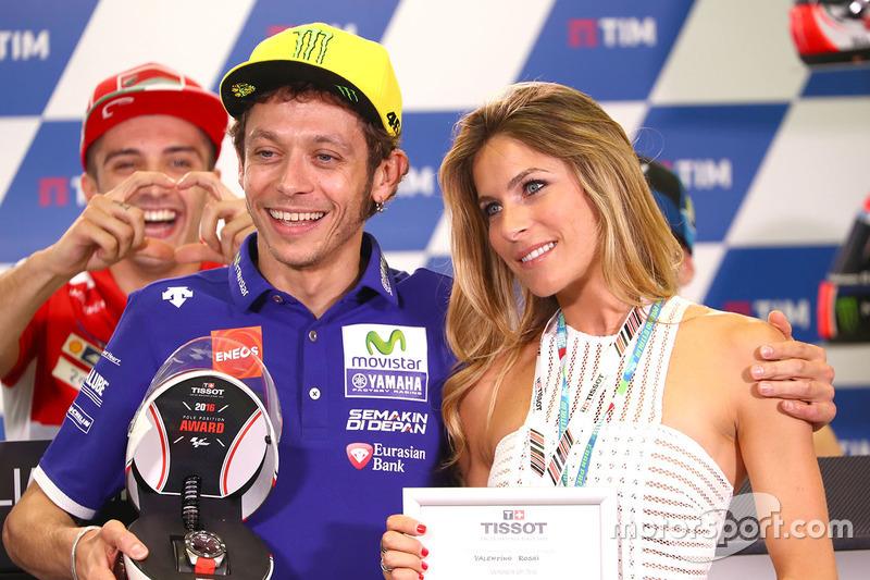 #5: Valentino Rossi mit Elonora Pedron, der Ex-Frau von Max Biaggi