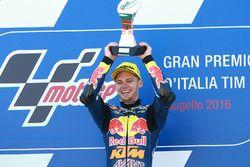 Ganador, Brad Binder, Red Bull KTM Ajo