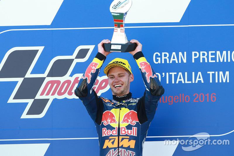 Le vainqueur Brad Binder, Red Bull KTM Ajo