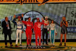 Pilotos que avanzan a All-Star race: Chase Elliott, Hendrick Motorsports Chevrolet, Trevor Bayne, Ro