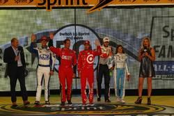 Drivers advancing to All-Star race: Chase Elliott, Hendrick Motorsports Chevrolet, Trevor Bayne, Rou