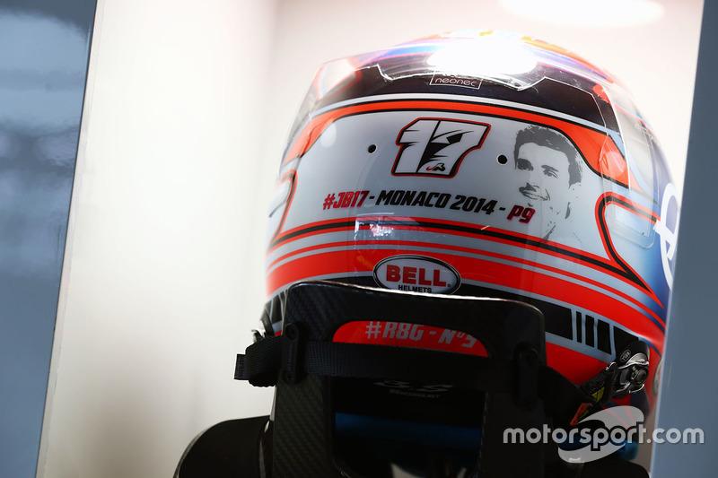 Monaco 2016 - Romain Grosjean, Haas