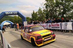 Partenza: Vitantonio Micoli, Renault 5 GT #58, Apulia Corse