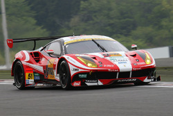 #51 LM corsa, Ferrari 488 GT3: Akihiro Tsuzuki, Morio Nitta