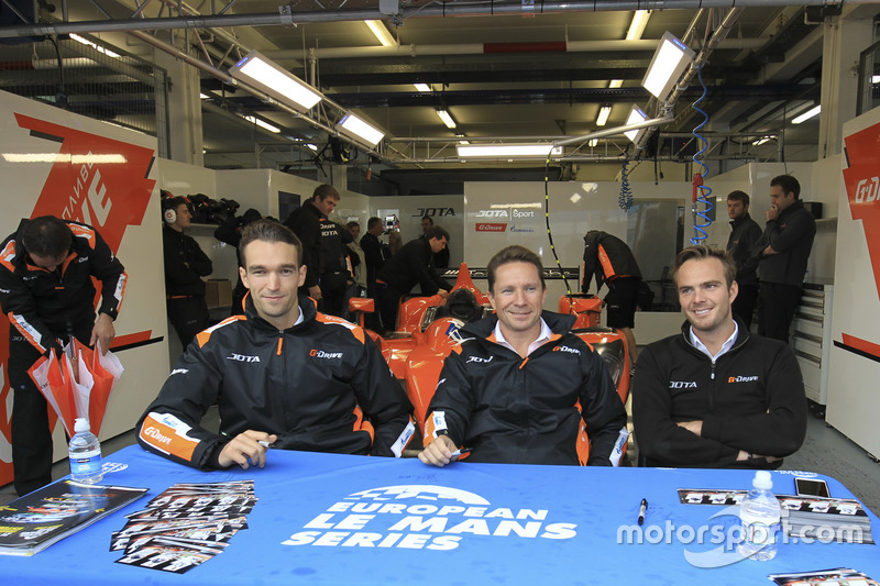 #38 G-Drive Racing Gibson 015S-Nissan: Simon Dolan, Giedo van der Garde, Harry Tincknell