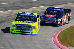 Matt Crafton, ThorSport Racing Toyota, Christopher Bell, Kyle Busch Motorsports Toyota