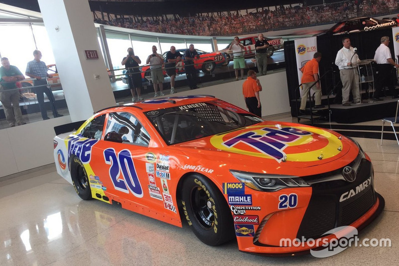 Throwback-Design von Matt Kenseth, Joe Gibbs Racing, Toyota