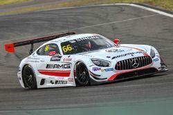 #66 Mercedes-AMG Driving Academy Team-AAI: Matt Solomon, Nico Bastian