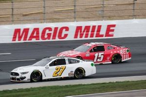 J.J. Yeley, Rick Ware Racing, Ford Mustang, Brennan Poole, Premium Motorsports, Remember Everyone Deployed Today Chevrolet Camaro