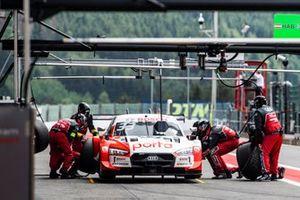 René Rast, Audi Sport Team Rosberg, Audi RS 5 DTM, arrêt au stand