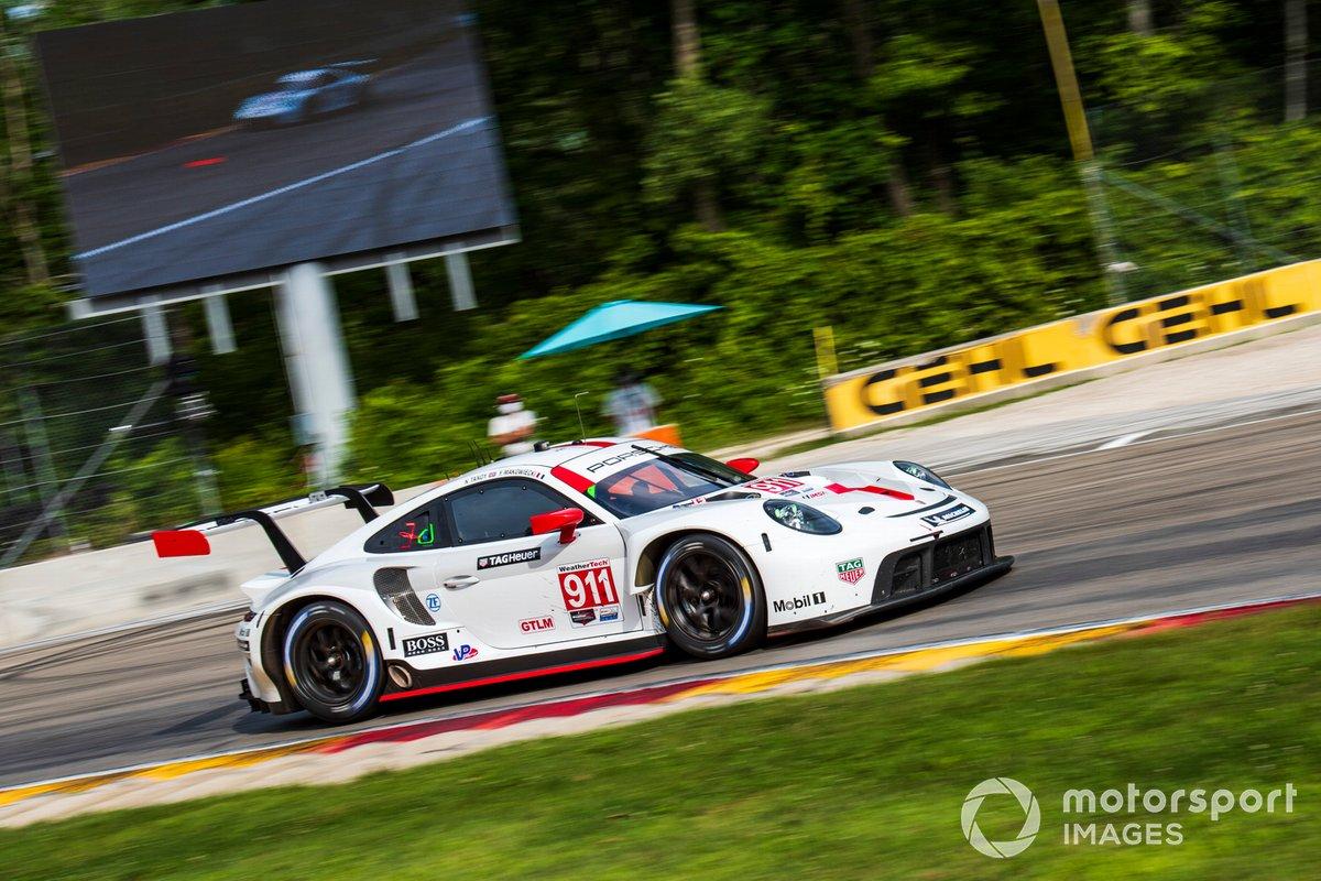 #911 Porsche GT Team Porsche 911 RSR - 19, GTLM: Nick Tandy, Fred Makowiecki, Peter Burke