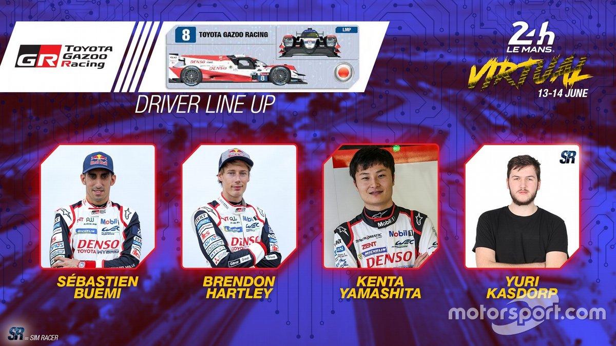 #8 Toyota Gazoo Racing - Oreca 07 LMP2